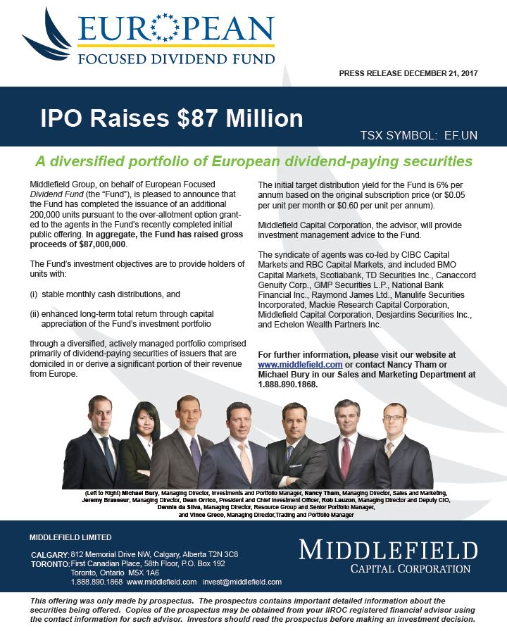 hwdf IPO
